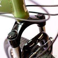 хаммер 26 ' десантник супер - дорога горный велосипед, передняя амортизатор, 24 скорости профессиональный, военная техника