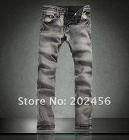 probation хлопок линия прямой джинсы size28-36 черный мужчины в джинсы jean07