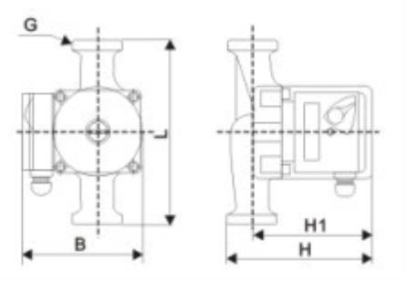 circulation pump 110V220V-2