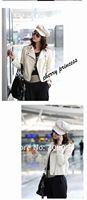 cart мех полиуретан кожа куртка женщины пальто размер, мл осень зима и xl01