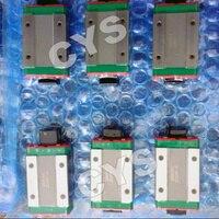 12 мм оригинальный чпу направляющий выступ hiwin миниатюрный линии движения барабанах 2 шт. mgw12 400 мм + 2 шт. mgw12c воды расширились блок вентилятор karate