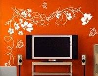 мода главная наклейки искусство украшения Free period картинки винил стены декор 130*200 см цветы и n46