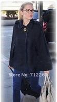 бесплатная доставка женский мода стиль ткани плащ пальто 2 цвет