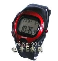 оптовая продажа! 5 шт./лот цифровой часы счетчик калорий пульс часы монитор секундомер бесплатная доставка