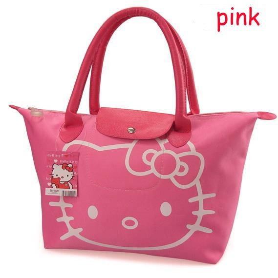 83d9f24bd ... Hello Kitty Fashion Waterproof folding Shopping Bag Tote Shoulder  Leisure Hand bag