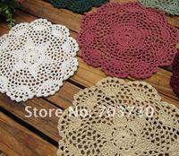 высокое качество новый стиль ручной работы стол коврики для украшения дома в чистые цвета бесплатная доставка