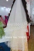 красивая невеста аксессуары для фата / перчатки / корзины / идеальный проволочный фата 1.5 м / 0046