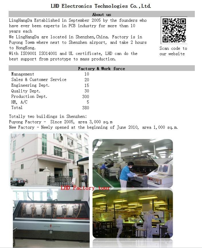 алюминиевая пластина печатные платы печатной платы