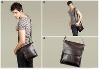 новое поступление хиты распродажа мода для мужчин через плечо, мужчины из натуральной кожи сумка, высокое качество деловая сумка, бесплатная доставка