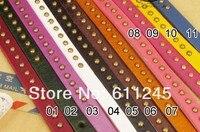 11 цветов Corona таблице Punk пялиться бронза заклепки женские 3 правило. воды кожа часовой Korea