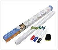 фантазии-Fix оптовая, 45 * 200 см винил белая доска наклейка на стену, сухой stir стена ожерелье, бесплатно маркер и последний включены