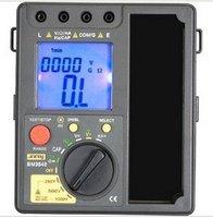 2на1 цифровой сопротивление изоляции тестер + цифровой мультиметр / мегаомметр