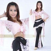 брюшко кружева лучших + брюки с кружево комплект танец живота костюм d833