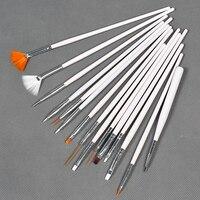 горячая! новое постулат 15 шт. профессиональный ногтей комплект дизайн живопись ручка идеально подходит для город Стивен