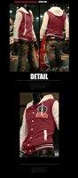 новая пос бейсбол форма пальто мода мужчины куртки мужчины'clothing верхняя одежда