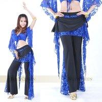 брюшко kruger лучших + брюки с кружево комплект / танец живота костюм / танец живота одежда оптовая продажа, бесплатная доставка