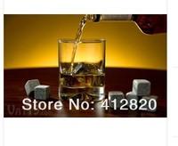 300 комплект / много виски вино камень холодная камень отличный подарок с цвет коробка новости и