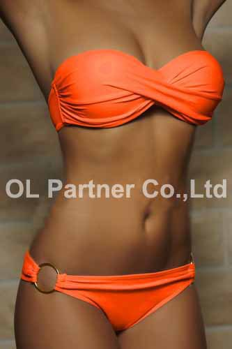 650180098 483 Wholesale Newest Summer Sexy Bikini Women Swimwear Occidental Secret Beach Swimsuit Push Up Bathing Suits 12 Colors S To XL