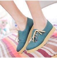 бесплатная доставка! весны прибытие туфли! четыре времени одного года туфли, женские туфли с плоским! большой размер 34 - 43