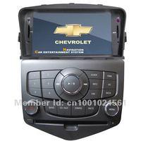 оптовая продажа цене 2 дин для Шевроле Cruze с GPS и DVB-т Bluetooth с бесплатная карта
