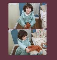 стильный сладкий девочка зима сладкий милый дети младенцы дети место тёплый толстый пиджаки пальто жилет берберский флис