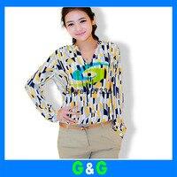 новое постулат осень женская футболка ned женщин Chef рубашка с ди сырой цвет блок украшения Chef футболка