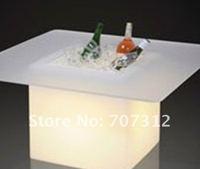 многоцветный из светодиодов стул куб для хранения коробка для льда ведро цветочный горшок показать полка, 40 * 40 * 45 см