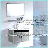 стене висит 304 из нержавеющей стали мебель для ванной комнаты шкаф