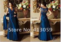 Новый бесплатная доставка элегантный модест формальные вечернее платье платья мать невесты мод ну вечеринку платья a551