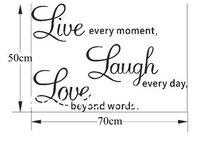 1 комплект высокое качество онлайн смеяться любовь семь стены дома искусства декор размер 50 * 70 см для гостиной подарок
