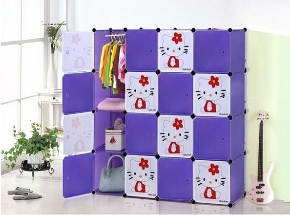 мультфильм просто шкаф ребенок ребенок шкаф складной шкаф для хранения игрушек