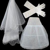 бесплатная доставка новое поступление свадебное платье 3 шт. костюм