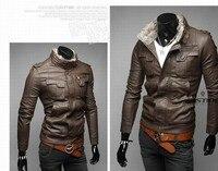 новый мотоцикл мужчин Costa куртка мужской куртки ветрозащитный мех бренд с длинным рукавом тонкий подходят для мужчин