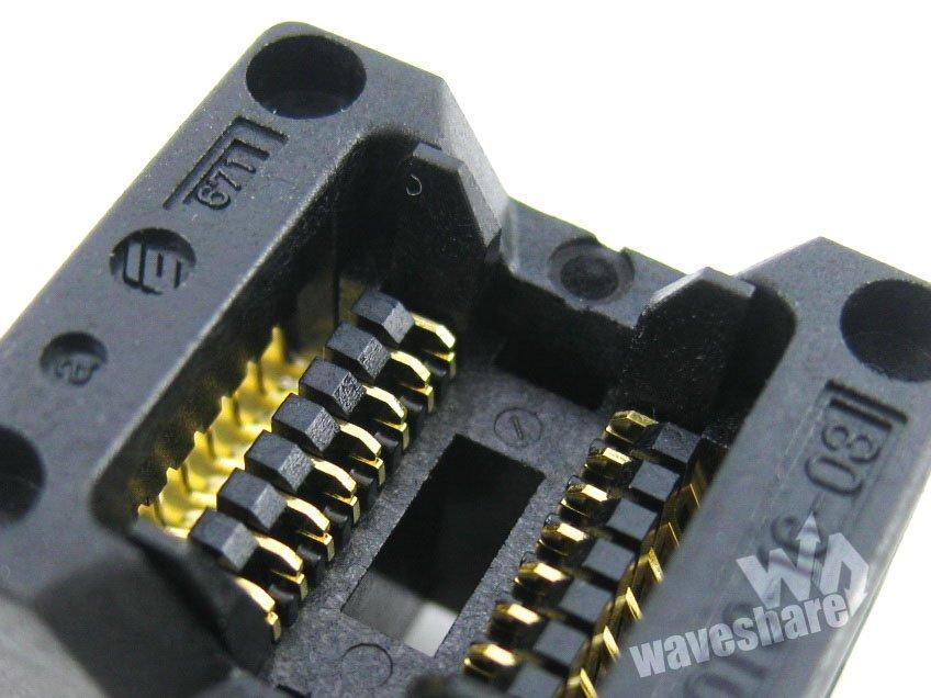 OTS-16-1.27-03 SOP8 SOP16 SO8 SO16 SOIC8 SOIC16 Enplas IC Test Burn-in Socket Programmer Adapter 1.27mm Pitch 3.9mm Width