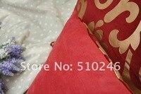 лучшие продажи 60 х 60 см вельвет ткань позолота диван председатель чехлы украшение продолговатые