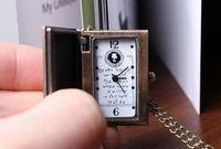 бесплатная доставка женская часы-Bosh дамы D цепь марка кварцевые часы мультфильм тетрадь смерти Bronze пялиться Karma часы