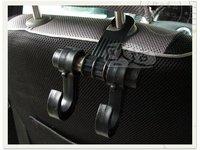 авто 3-связаны / STL / крючки для автомобильных сидений / авто поставки / / многофункциональный двойной анти-KR автомобильных шпиндели автомобиль связаны / черный