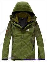 горячая! о распродажа высокое качество уличная слой 2на1 восхождение куртки ветровка
