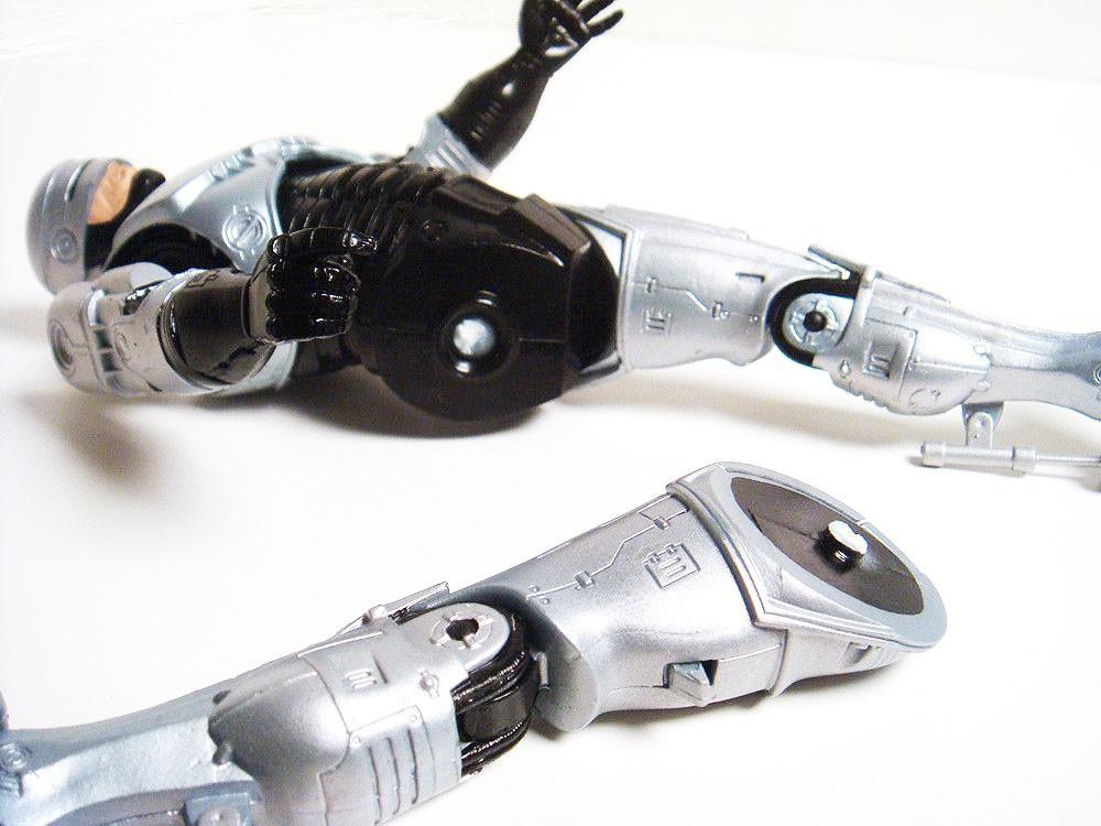 """опт/розница бесплатная доставка FS и высокое качество фигурку робокоп весна - загружалась пистолет кобура алекс Джей мерфи 17.8 см / 7 """" фигурку новый в коробке"""