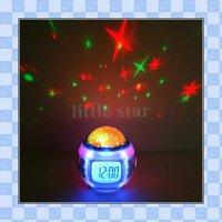музыка звездное небо проекции Навальный календарь термометр с розничная упаковка, лучший подарок, бесплатная доставка