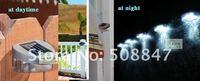 х ' горячая! бесплатная доставка! 10 шт./лот открытый сад солнечной энергии из светодиодов путь стены пейзаж забор свет lampprice / прямая поставка