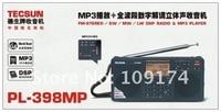 бесплатная доставка 1 шт./лот новое постулат tecsun пл-398mp фапч ЦОС ж / с двумя динамика стерео радио