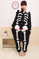 2015 взрослых фланелевую Пэм все в одном пижама животных косплей взрослых зима мило мультфильм животных костюмчиков Пэм полный машин
