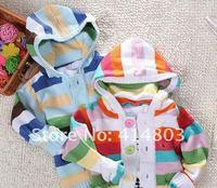 3 шт. / 2 цветов оптовая продажа дети Rico пост cardigan sweater, девочки / мальчики крючком пальто верхняя одежда детская одежда бесплатная доставка