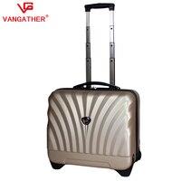 """новый! высокое качество ABS + ПК 16 """" прокат багаж чемодан обратить-бар окно путешествия чехол низкая"""