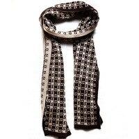 80272 женщин людей шарфы мода конструктор хлопок полосатый плед мягкие этнические теплая зима шерсти коричневого шарфы китай