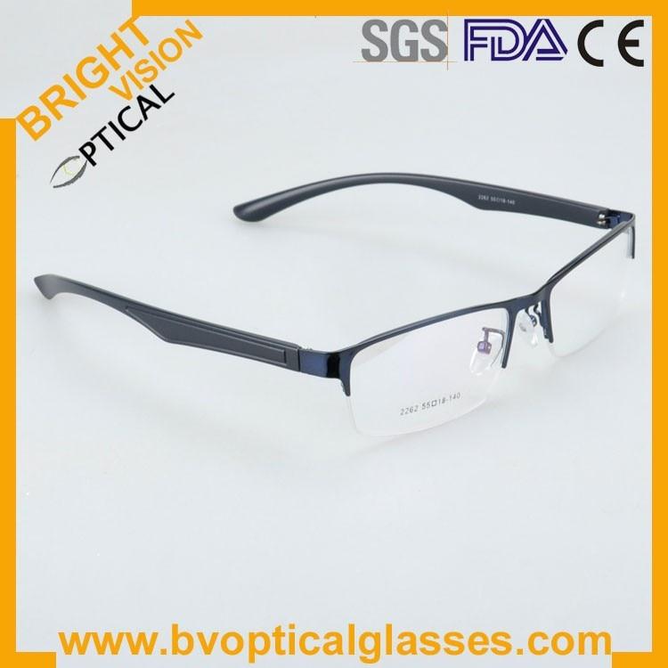 New model half rim metal optical frames glasses2262lan-1