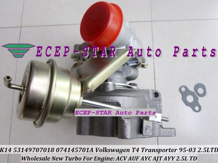 K14 53149707018 074145701A Turbo Turbine Turbocharger Volkswagen VW T4 Transporter 1995-2003 2.5L TD ACV AUF AYC AJT AYY (4)