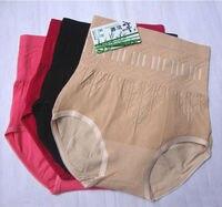 дамы трусики с высокой талией трусы брюки формирование трусики бесшовные бамбуковое волокно женское нижнее белье комбенизоны