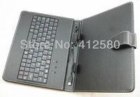бесплатная доставка! кожаный чехол с интерфейсом USB для подключения клавиатуры для 8 дюймов планшет клавиатура чехол